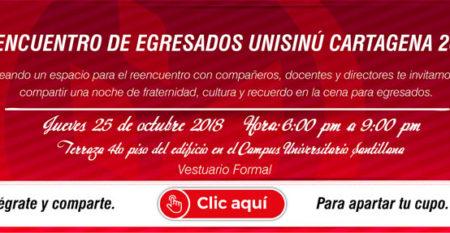 SL-Vl Encuentro de Egresados Unisinú Cartagena 2018-03