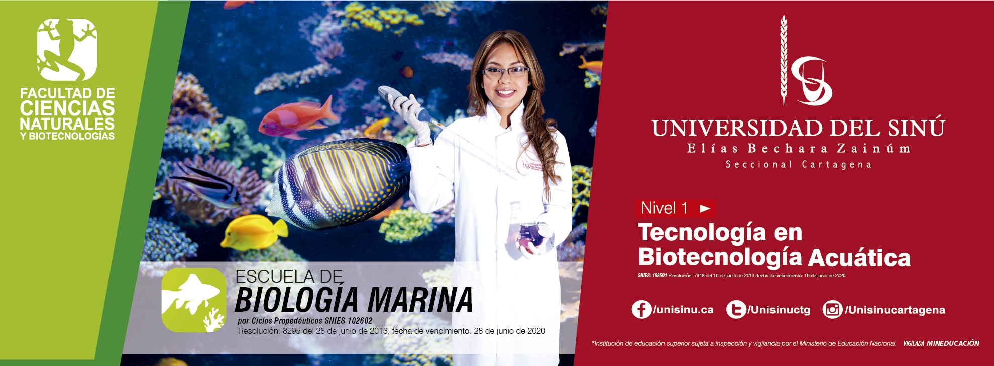 Biología Marina SNIES:102602