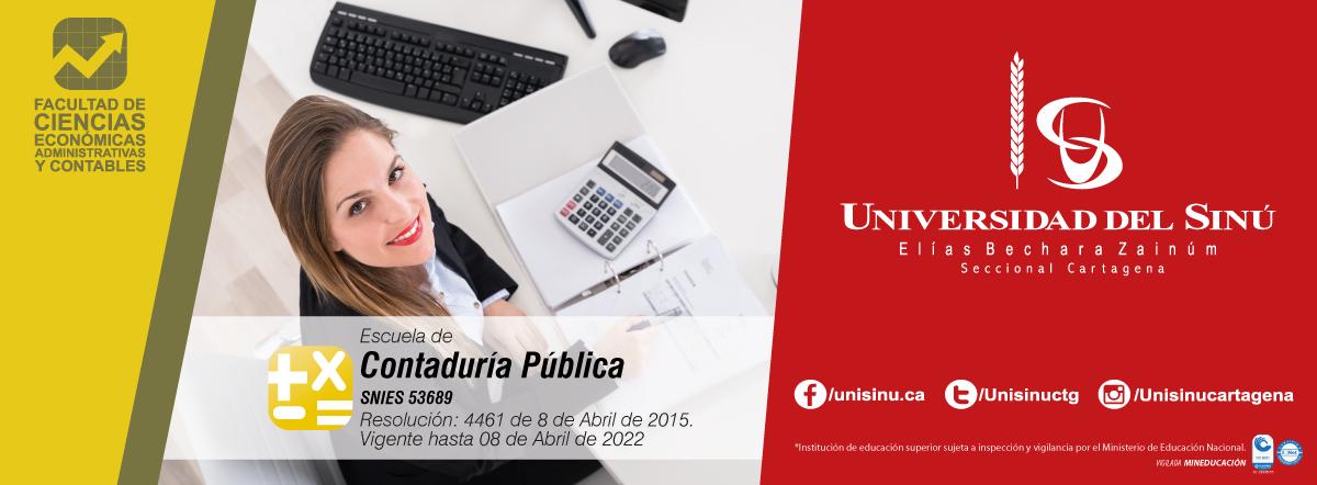 Contaduría Pública -SNIES:53689