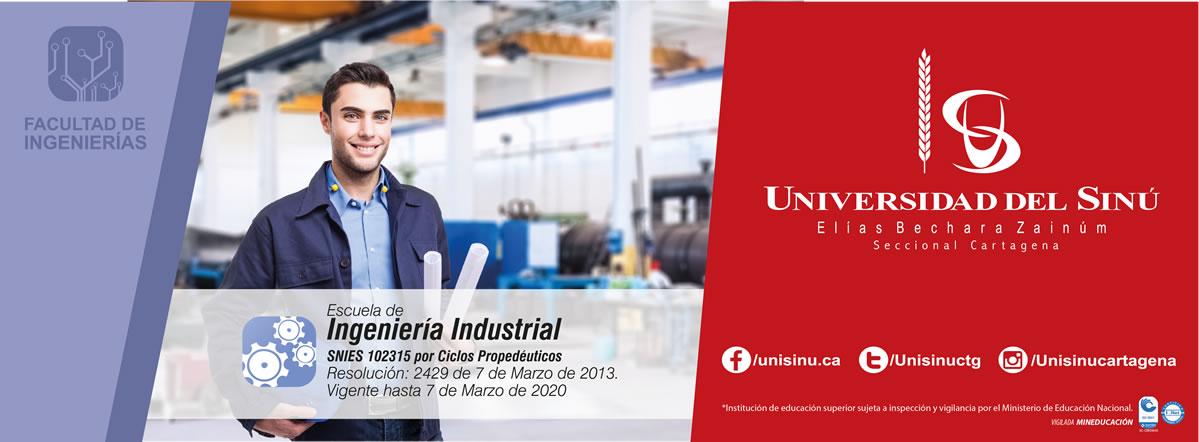 Ingeniería Industrial por Ciclos Propedéuticos - SNIES: 102315