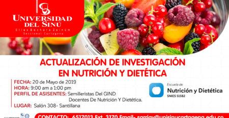 ACTUALIZACIÓN DE INVESTIGACIÓN EN NUTRICIÓN Y DIETÉTICA-2019